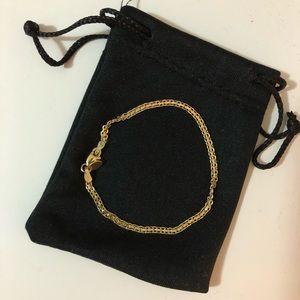 18K Gold Plated Bismark Chain Bracelet